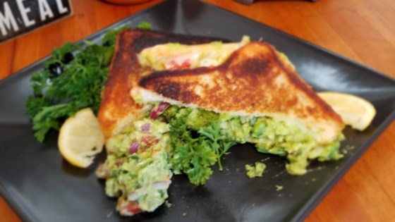 Photo of Texas Toast Guacamole Grilled Cheese Sandwich by Sahara B