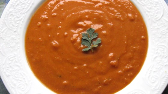 Photo of Pressure Cooker Vegan Red Lentil Soup by Tridelice