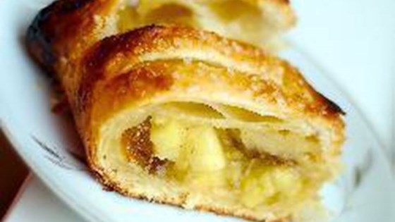 Quick Puff Pastry Apple Strudel Recipe