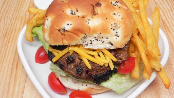 Photo of Portobello Bison Burgers by ChristineM