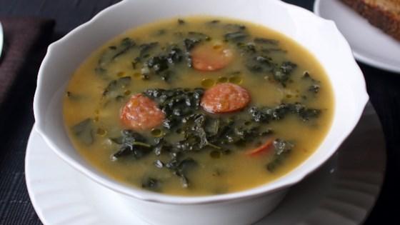 Photo of Caldo Verde (Portuguese Sausage Kale Soup) by Chef John