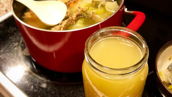 Photo of Leftover T-Day Turkey Stock by Shasta