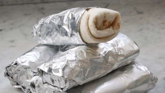 Photo of Freeze-and-Reheat Breakfast Burritos by fabeverydayblog