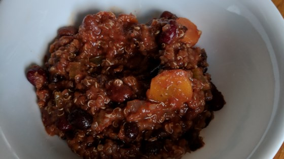 Photo of Vegan Quinoa Chili by Mary Firdawsi