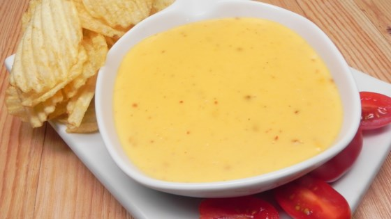 Super Easy Cheese Dip