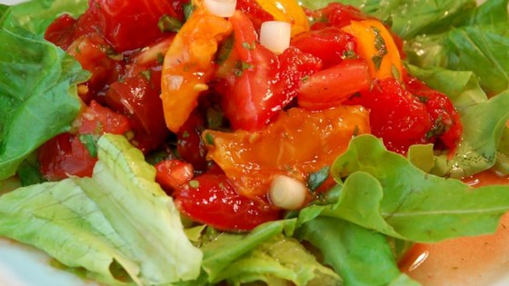 Photo of Summer Tomato Salad by PEGGYLEBLANC
