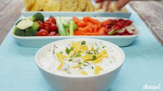 Photo of Cheesy Sour Cream and Salsa Dip by Shawn Hoffman Zimmerman