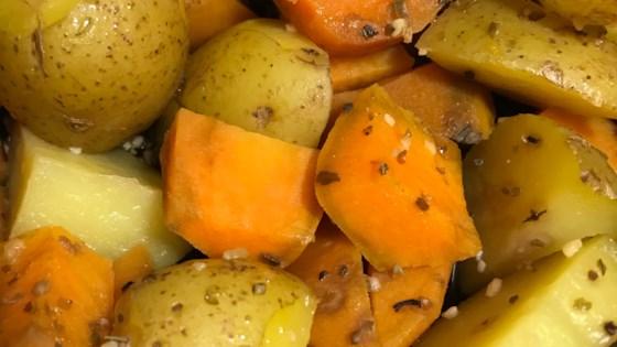 Roasted Potato Medley