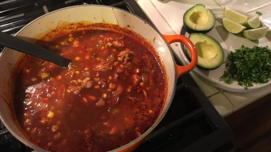 Photo of Mexican Chicken Tortilla Soup by Chef Dra