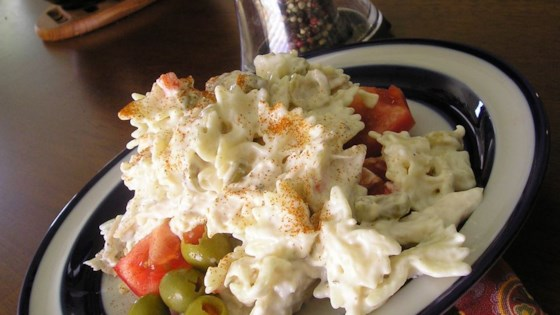 Photo of Simple Ranch Chicken Macaroni Salad by Pamela Batovsky