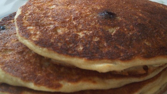 Photo of Oatmeal and Wheat Flour Blueberry Pancakes by CARTERSSJC