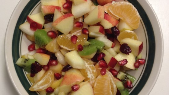 Photo of Colorful Winter Fruit Salad  by Lake Erie Cooker