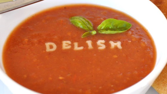Photo of Hearty Hot or Cold Roasted Tomato Soup by Rosa