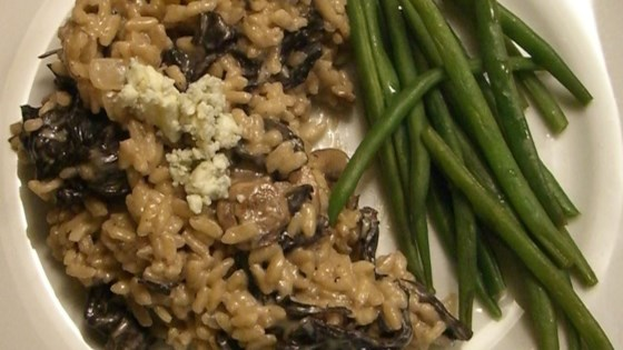 Photo of Gorgonzola and Wild Mushroom Risotto by Rebcamuse