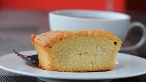 Photo of Coconut Sour Cream Pound Cake by Paula