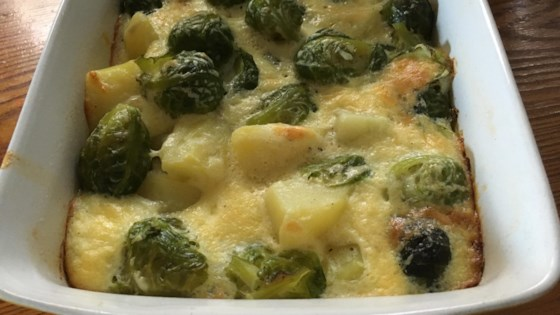 Photo of Creamy Potato-Brussels Sprouts Casserole by barbara