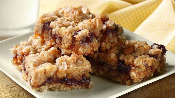 Photo of Cinnamon Oatmeal Bars by Musselman's® Apple Butter