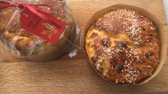 Photo of Orange and Saffron Panettone by FrancesC