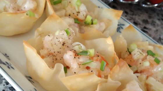 Photo of Baked Shrimp Wontons  by MAUREENVANCOUVER