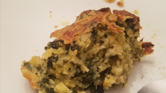 Photo of Donnasue's Cornbread Mustard Green Casserole by Donnasue