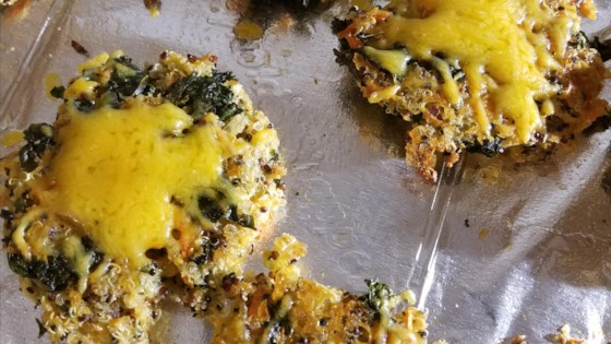 Photo of Cheesy Quinoa Patties with Kale and Spinach by just4fun