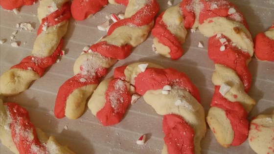 Photo of Candy Cane Cookies II by Diane