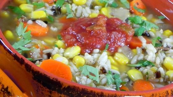 Photo of Santa Fe Wild Rice Soup by CORWYNN DARKHOLME