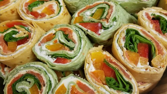 Photo of Smoked Salmon Pinwheels by David