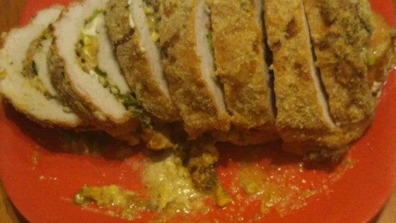 Photo of Cheese-Stuffed Pork Tenderloin by Melanie