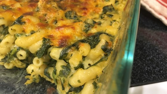Photo of Spinach Mac And Cheese  by Lenka McDonald