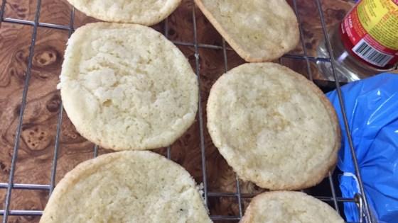 Photo of Creamy Lemon Sugar Cookies by Sam
