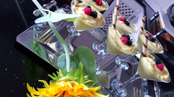 Photo of Lemon Mousse with Berries by Dickinson's