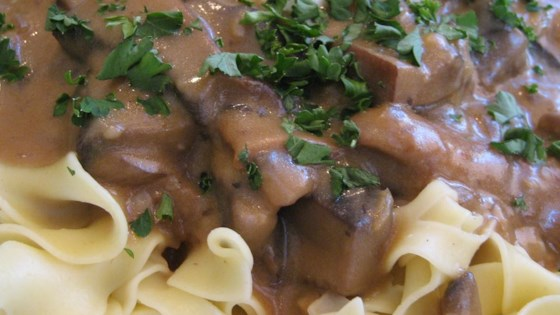 Photo of Portobello Mushroom Stroganoff by CHORDATA