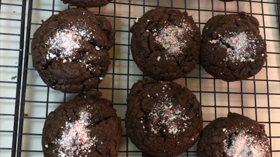 Photo of Double Chocolate Mint Cookies by Paula Jo