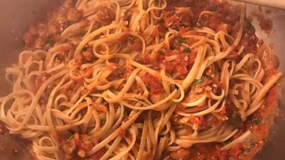 Photo of Linguine With Red Clam Sauce by Tony Sabo