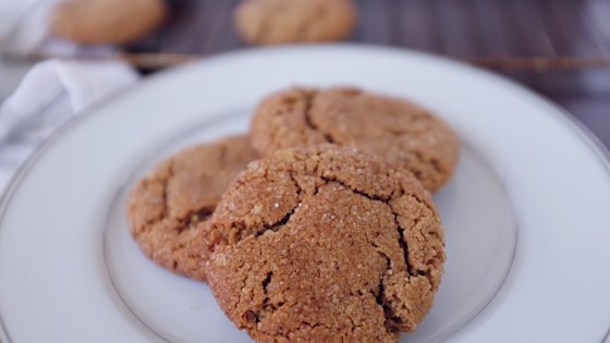 Photo of Gluten-Free Gingersnap Cookies by Isabel Carlisle Storolis