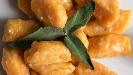 Photo of Sweet Potato Gnocchi with Sage-Butter Sauce by Explore dough