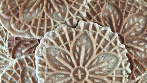 Photo of Gingerbread Pizzelle by sueb