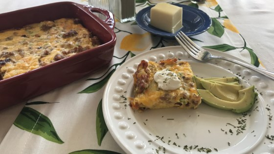 Photo of Rebekah's Keto Egg Casserole by Rebekah Ramos