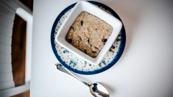 Photo of Cranberry, Cinnamon, and Brown Sugar Steel Cut Oats by Be Prime