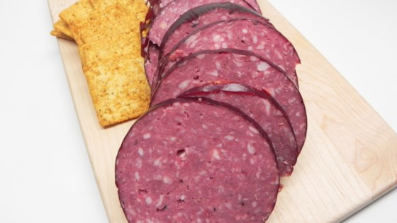 Photo of Beef Summer Sausage by P Bautsch