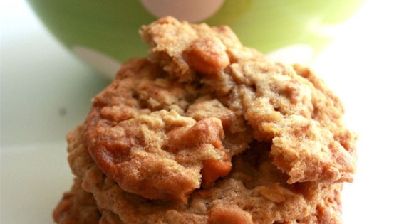 Oatmeal Butterscotch Cookies Recipe - Allrecipes.com Oatmeal Butterscotch Cookies