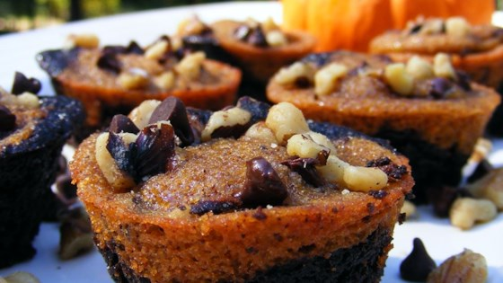 Photo of Pumpkin Brownies by CroqueMadame