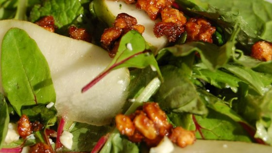 Photo of Roquefort Pear Salad by Michelle Krzmarzick