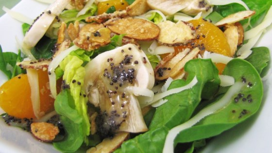 Photo of Sugar Toasted Almond Spinach Salad by M Pineda