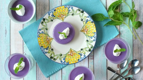 Photo of Ube Panna Cotta by Diana Moutsopoulos