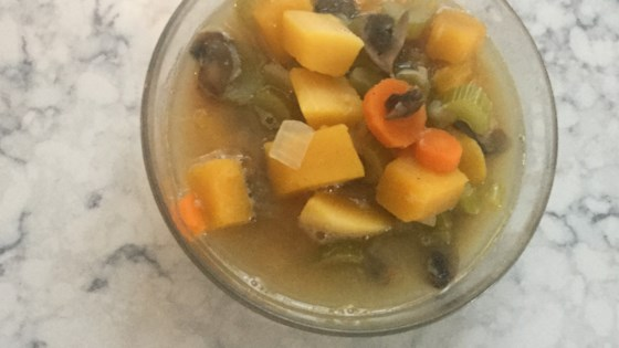 Bean and Butternut Squash Soup