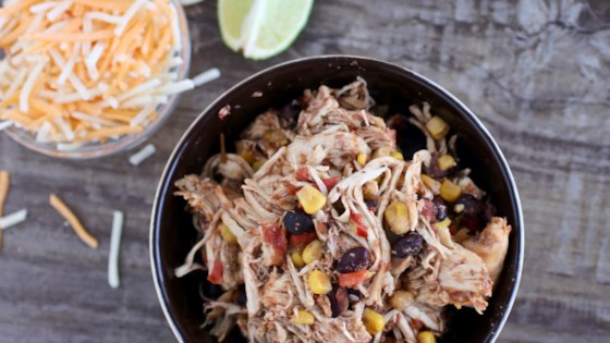 Photo of Easy Slow Cooker Chicken Fajitas by BusyMomTo4