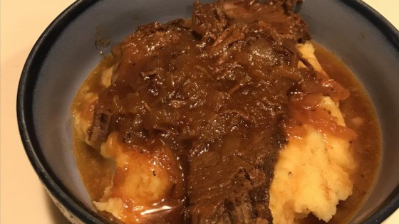 Photo of Sweet and Sour Brisket by RebeccaMazz