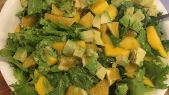 Photo of Mango, Orange, Grapefruit, Avocado, and Pistachio Salad by Ella